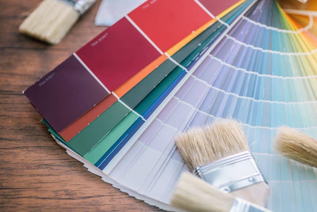 Värien valinta maalaukseen